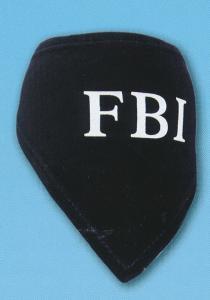 HALSDUK FBI SVART