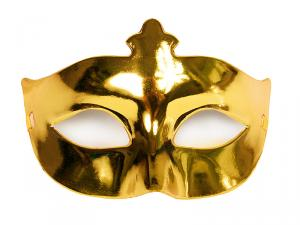 PARTY MASK GULD