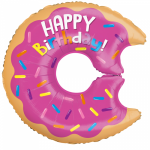 Folieballong - Birthday Donut
