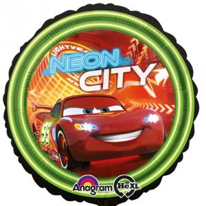 Cars Neon City Folieballong