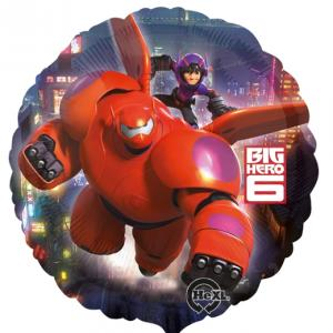 Rund Big Hero 6 Folieballong