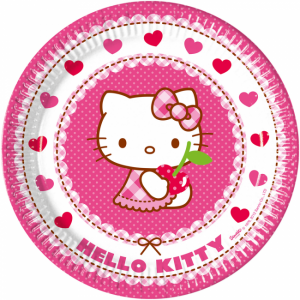 Hello Kitty - Tallrikar