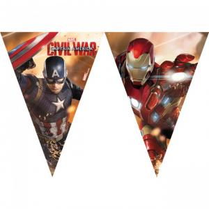 Captain America - Civil War - Flaggirlang