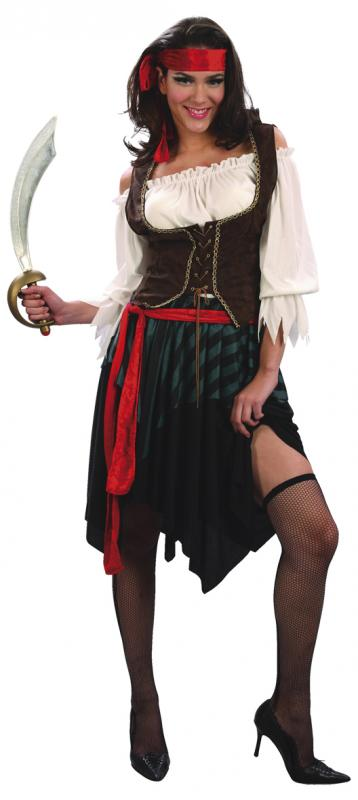 Dräkt Pirate Girl