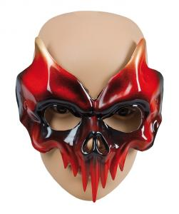 Mask Skull Red/Black