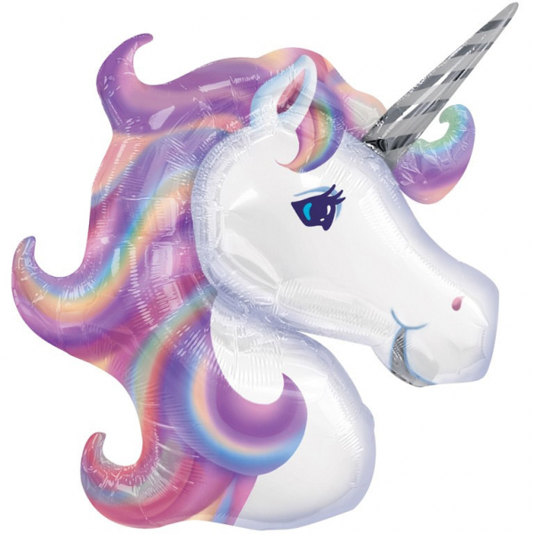 Folieballong - Unicorn - Supershape