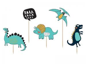 Cupcake Toppers Mix - Dinosaurs