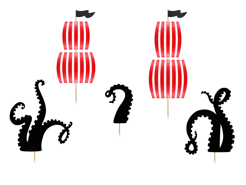 Cake Toppers - Pirates Party