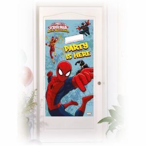 Spiderman Web Warriors dörrdekoration