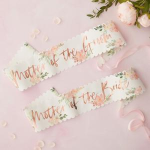 Sash - Mother of the Bride & Groom - Team Bride Floral