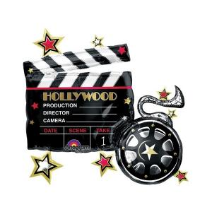 Folieballong - Hollywood - Clapboard