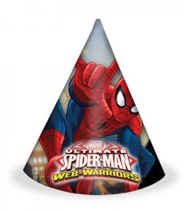 Spiderman - Partyhattar