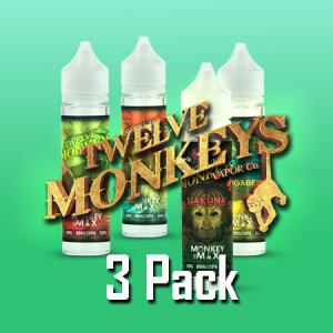 12 Monkeys (50ml, Shortfill) 3pack
