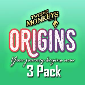 12 Monkeys Origins (50ml, Shortfill) 3pack