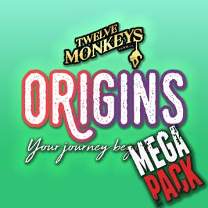 12 Monkeys Origins (50ml, Shortfill) 8pack - Mega Pack