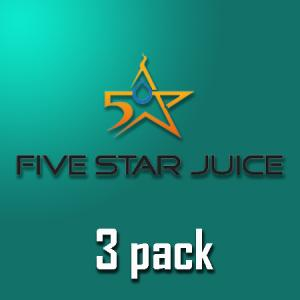 Five Star Juice - 3pack