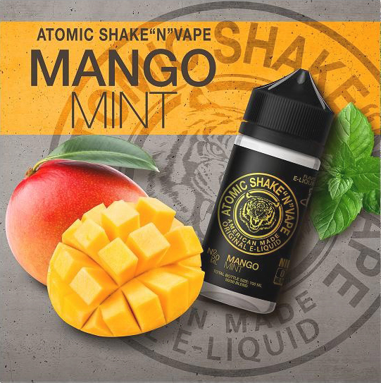 Atomic - Mango Mint (50ml, Shortfill)