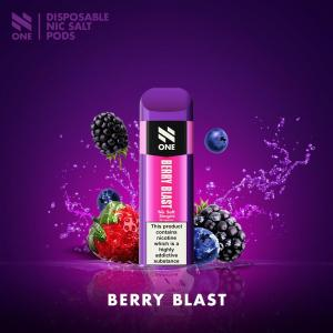 N One - Engångspod - Salt 20mg - Berry Blast