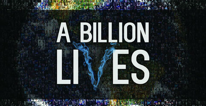 """What is the going rate for """"A Billion Lives""""?"""