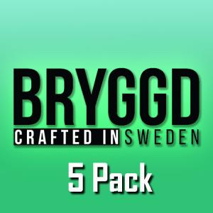 Bryggd (50ml, Shortfill) 5pack