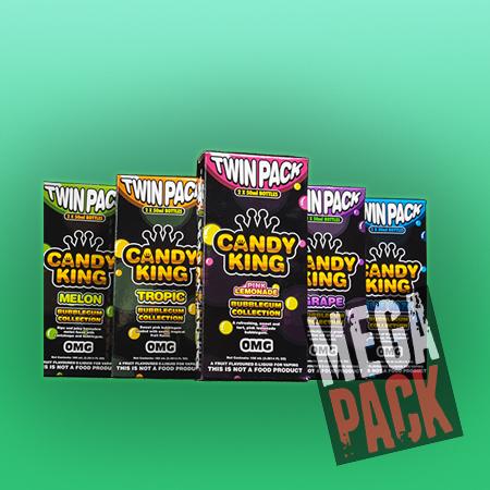 Candy King Bubblegum (50ml, Shortfill) 6pack - Mega Pack