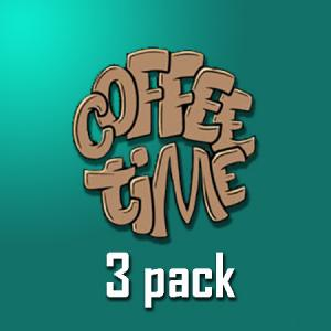 Coffee Time - 3pack