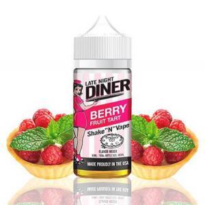 Late Night Diner | Berry Fruit Tart