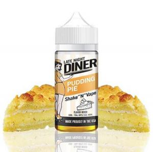 Late Night Diner - Pudding Pie (50ml, Shortfill)