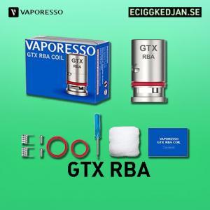Vaporesso - GTX RBA Däck