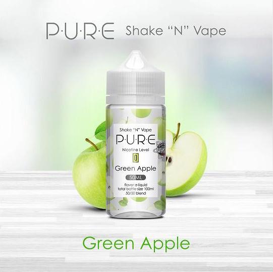 Pure - Green Apple (50ml, Shortfill)
