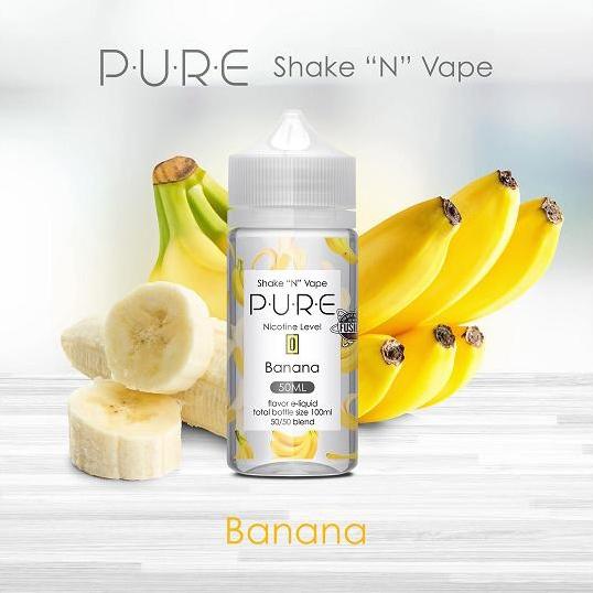Pure - Banana (50ml, Shortfill)