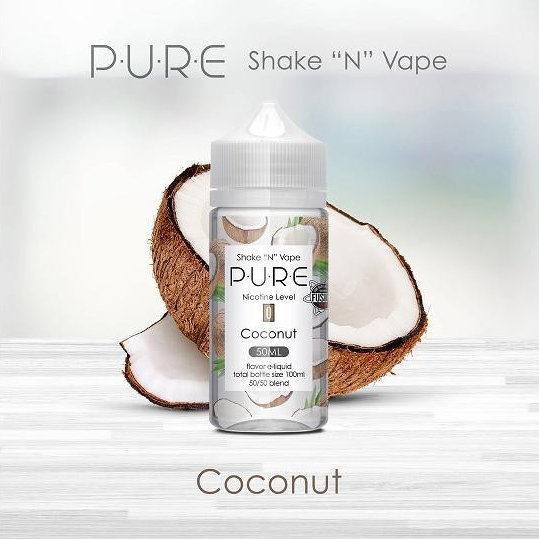 Pure - Coconut (50ml, Shortfill)