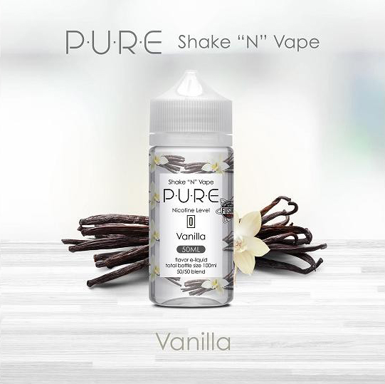 Pure - Vanilla (50ml, Shortfill)