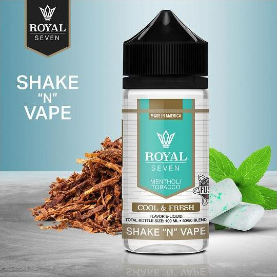 Royal Seven - Cool & Fresh (50ml, Shortfill)