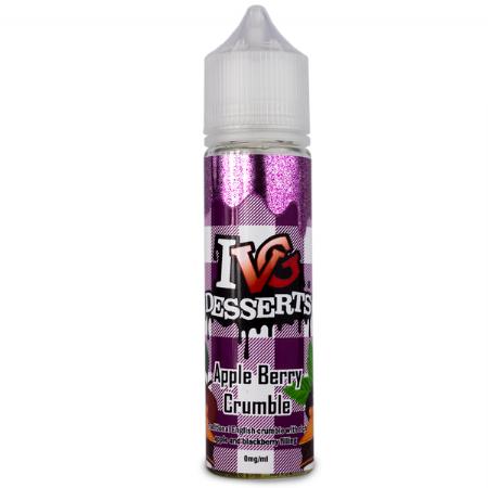 IVG Desserts | Apple Berry Crumble