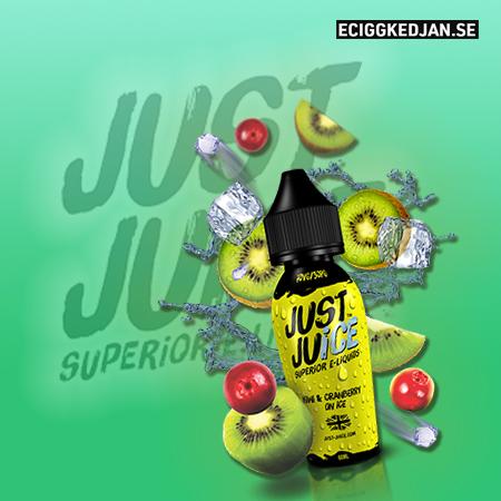 Just Juice | Kiwi & Cranberry on Ice