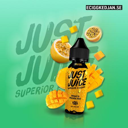 Just Juice   Mango & Passion Fruit