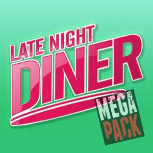 Late Night Diner (50ml, Shortfill) 6pack - Mega Pack