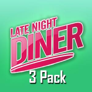 Late Night Diner (50ml, Shortfill) 3pack