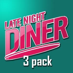 Halo - Light Night Diner - 3pack