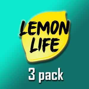 Lemon Life - 3pack