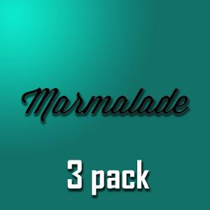 Marmalade - 3pack