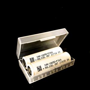 MoliCel - P26A - 18650 - Batteri 2600Mah 35Amp (batterilåda,2-pack)