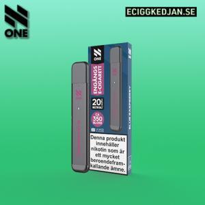N ONE | Blue Raspberry | ENGÅNGSPOD