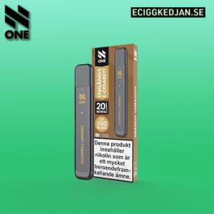 N ONE | Creamy Tobacco | ENGÅNGSPOD