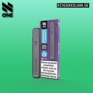 N ONE | Grape Ice | ENGÅNGSPOD