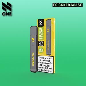 N ONE | Ice Mango | ENGÅNGSPOD