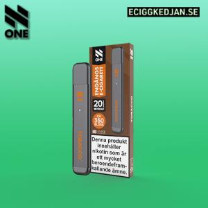N ONE | Tobacco | ENGÅNGSPOD