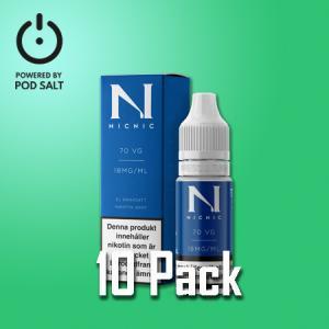 Nic Nic - Nikotinshot - VG70/PG30 - 10pack/display