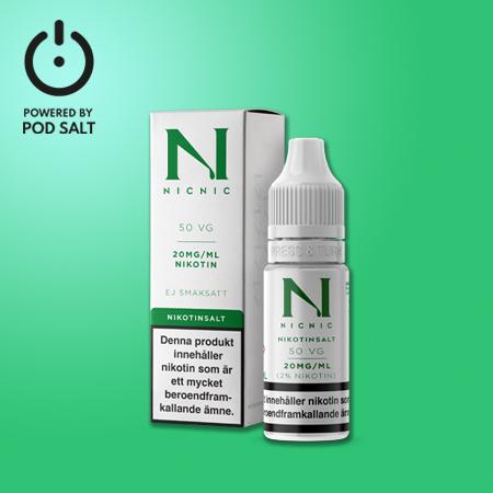 NIC NIC SALT   Nikotinshots SALT VG50/PG50
